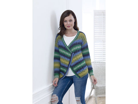 Cardigan and Sweater in King Cole Riot DK (5007K)