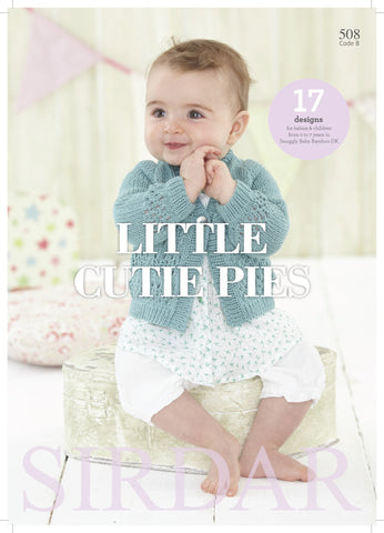 Little Cutie Pies by Sirdar (508S)-Deramores
