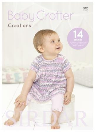 Baby Crofter Creations by Sirdar (510S)-Deramores
