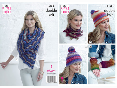 Apparel Accessories in King Cole Riot DK (5150)