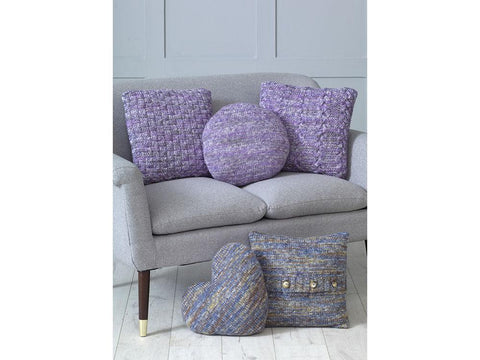 Cushions in King Cole Shadow Chunky (5193K)