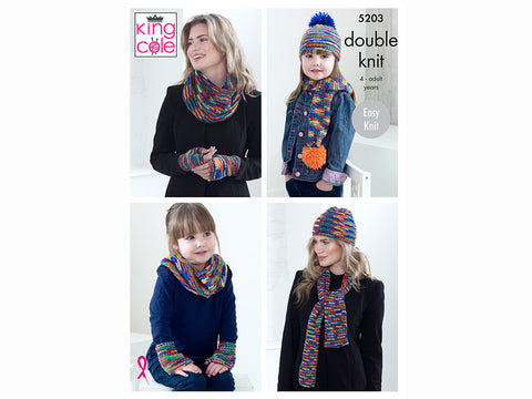 Accessories in King Cole Glitz DK (5203K)