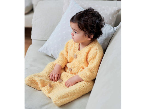 Baby's Sleeping Bag in Sirdar Snuggly Bouclette (5254S)