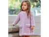 Girl's Dress and Hat in Sirdar Snuggly Bouclette (5255S)