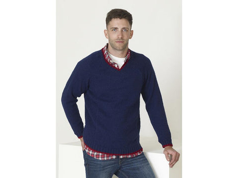 Mens Sweaters in King Cole Big Value DK 50g (5259K)