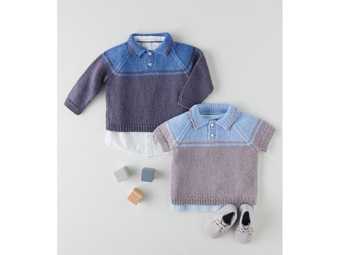 Sweaters Knitting Kit and Pattern in Sirdar Yarn (5358S)