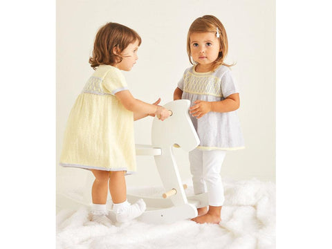 Girls Dress Knitting Kit and Pattern in Sirdar Yarn (5368S)