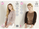 Sweater & Tunic in King Cole Truffle (5514K)