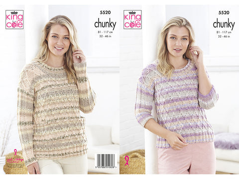 Sweaters in King Cole Chunky (5520K)