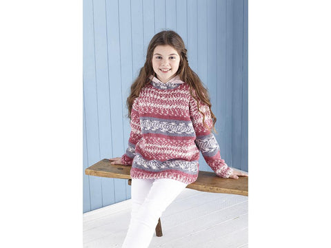 Sweater & Hoodie Knitting Kit and Pattern in King Cole Yarn (5650)