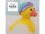 YARN The After Party 57 - Crochet Kit and Pattern Bathing Duck