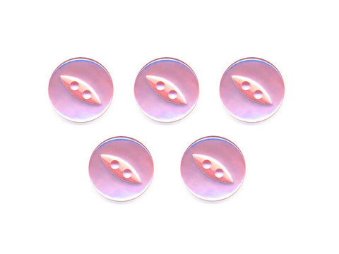 Fish-Eye Buttons - Pink - 043
