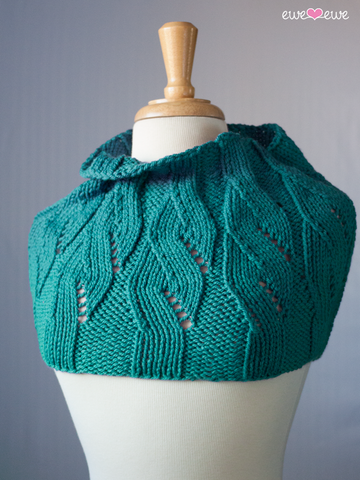 Mock Cable Cowl by Heather Walpole - Digital Version