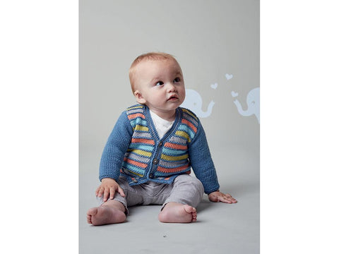 Cardigan and Waistcoat in Sublime Baby Cashmere Merino Silk DK (6139)