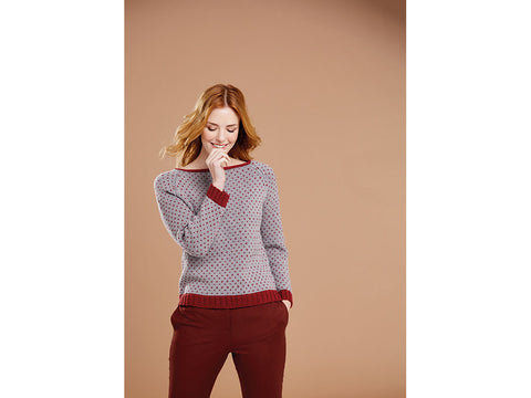 Sweater in Sublime Extra Fine Merino Wool DK (6162S)
