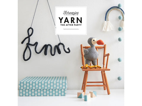 YARN The After Party 64 - Crochet Kit and Pattern Finn The Dodo