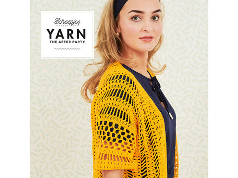 YARN The After Party 67 - Crochet Kit and Pattern Boho Cardigan Kit