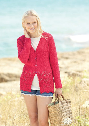 Women's Cardigans in Sirdar Beachcomber DK (7278) - Digital Version