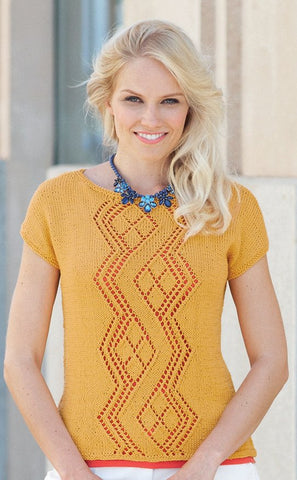 Womens Top and Vest Top in Sirdar Cotton DK (7734)