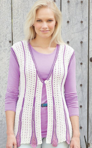 Cardigan and Waistcoat in Sirdar Country Style DK (7756)