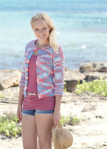 Womens and Girls Cardigans in Sirdar Beachcomber (7759)
