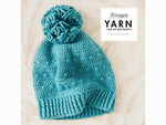 YARN The After Party 78 - Crochet Kit and Pattern Hyperbolic Beanie Kit