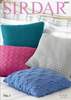 Cushion Covers in Sirdar No.1 (8050S)