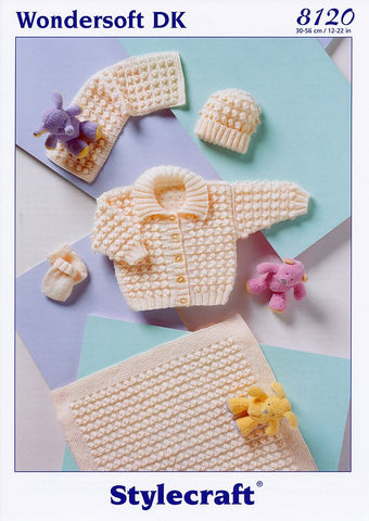 Pram Set in Stylecraft Wondersoft DK (8120)