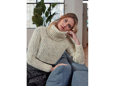 Cropped Sweater in Hayfield Bonus DK (8209)