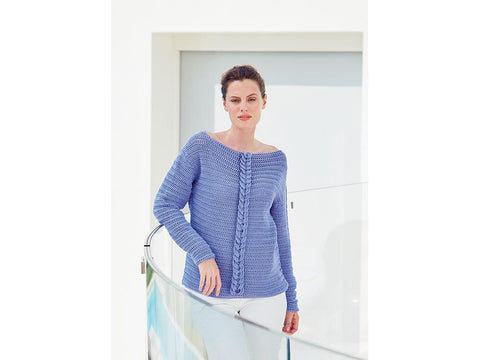 Sweater Crochet Kit and Pattern in Sirdar Yarn (8256)