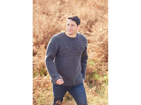 Sweater in Hayfield Bonus Chunky (8293)