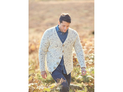 Man's Cardigan in Hayfield Bonus Chunky (8294)
