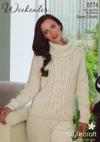 Sweater In Stylecraft Weekender (8774)