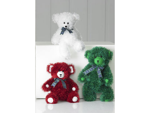Tinsel Chunky Teddies in King Cole Tinsel Chunky (9021K)