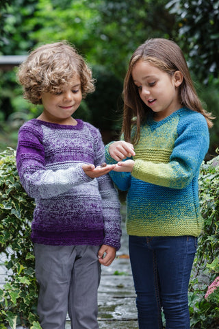 Sweaters in Stylecraft Ombre (9252)