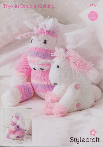 Unicorn Toys in Stylecraft Wondersoft DK and Wondersoft Merry Go Round (9276)
