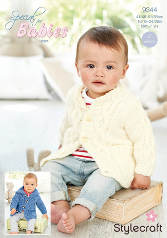 Coats in Special for Babies Aran (9344)