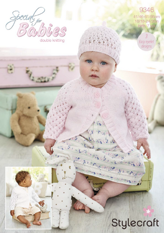 Girl's Cardigans and Hat in Special for Babies DK (9346)