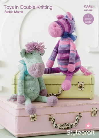 Pony and Donkey in Stylecraft DK (9354)