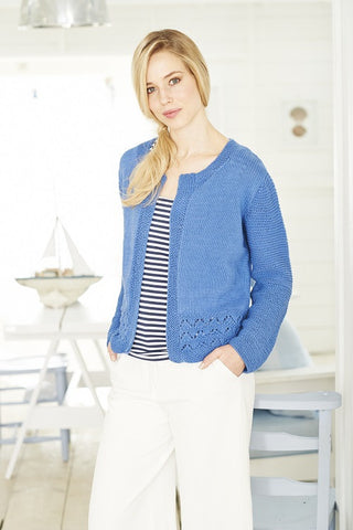 Cardigans in Stylecraft Classique Cotton DK - (9374)