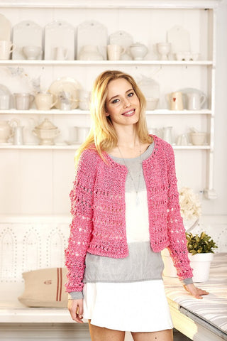 Cardigans in Stylecraft Mystique Quick & Light - (9383)