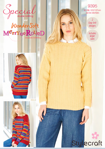 Sweaters in Special DK & Wondersoft Merry Go Round (9395)