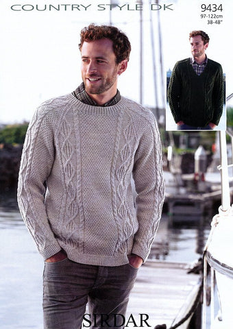 Sweaters in Sirdar Country Style DK (9434)