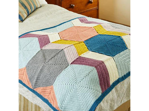 Blanket Kits in Stylecraft Special DK (9449) by Annelies Baes