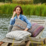 Cushions in Stylecraft Swift Knit Mega (9468)