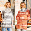 Ladies Sweater & Tunic in Stylecraft Life Changes DK (9542)