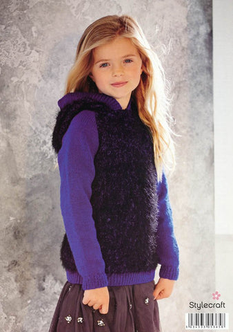 Children's Sweaters in Stylecraft Eskimo Kisses (9055)