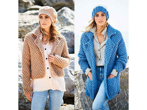 Ladies Jackets in Stylecraft Special XL Super Chunky (9591)
