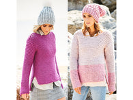 Ladies Sweaters in Stylecraft Special XL Super Chunky (9592)