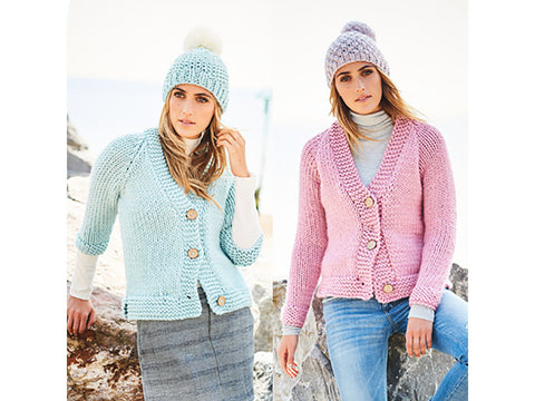 Ladies Cardigans in Stylecraft Special XL Super Chunky (9593)